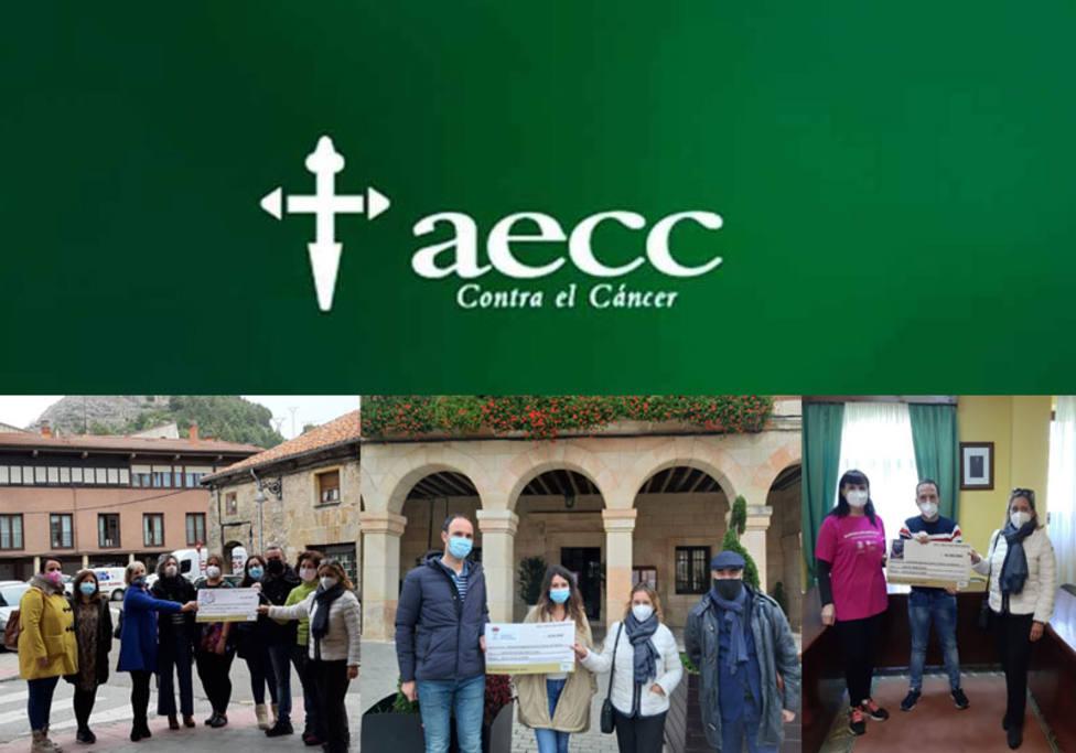 AECC Palencia recibió de los municipios de Herrera, Aguilar o y Barruelo 7.194 euros