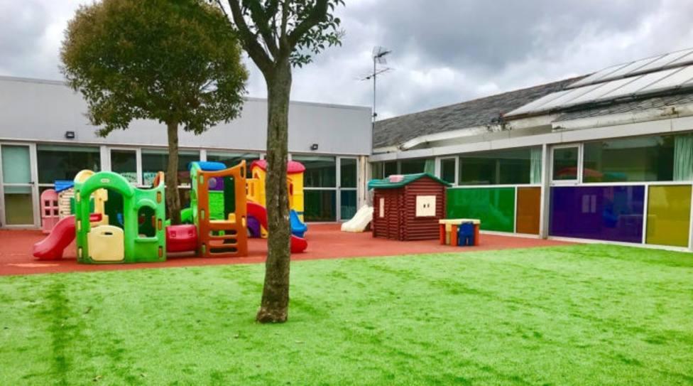 Escuela infantil A Barosa ubicada en As Pontes. FOTO: Concello de As Pontes