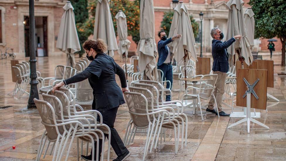Cierre total de la hostelería en València