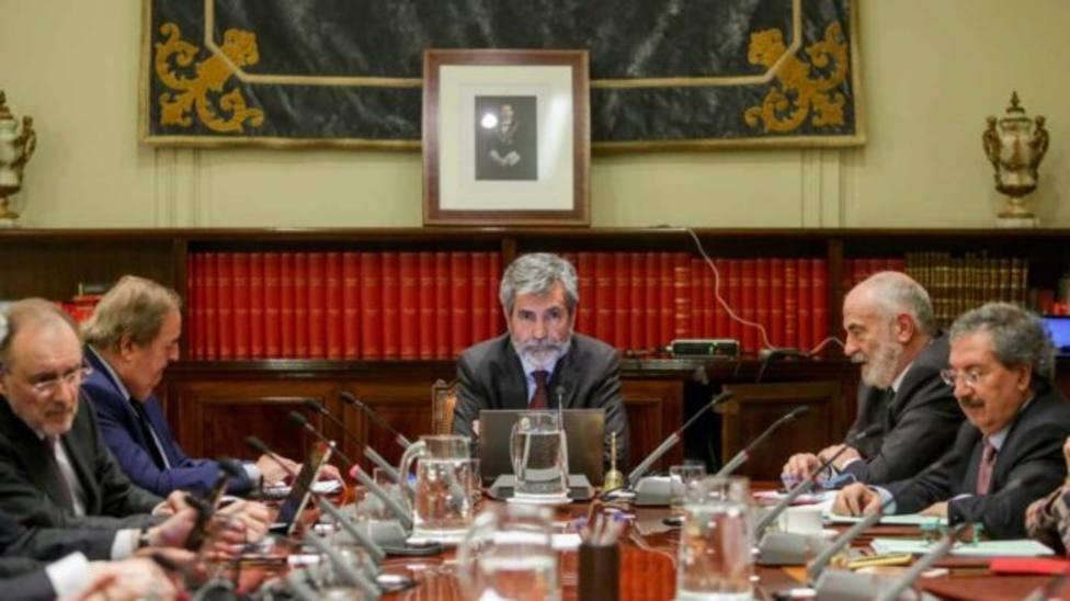 El Congreso aprueba la limitación de funciones del CGPJ para que esté vigente en abril