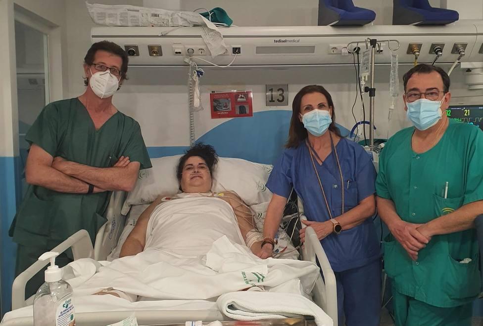 El sistema de oxigenación extracorpórea (ECMO) a distancia permite salvar la vida de una paciente con Covid