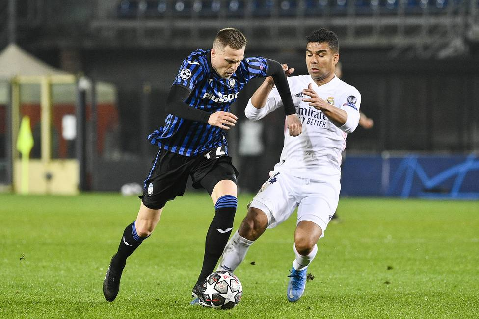 Atalanta vs Real Madrid - andata ottavi di finale Champions League 2020/2021