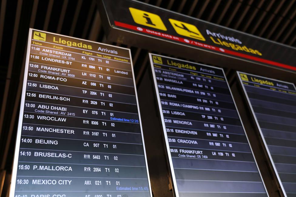 Marruecos suspende a partir de este martes los vuelos con España y Francia