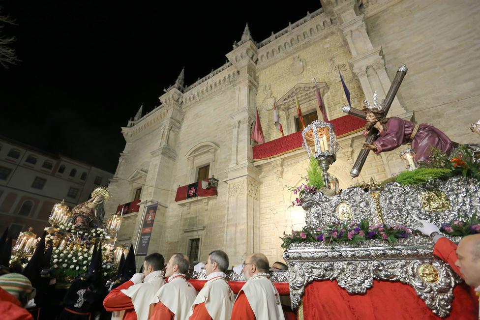 Procesión del Encuentro de la Santísima Virgen con su Hijo (Valladolid)