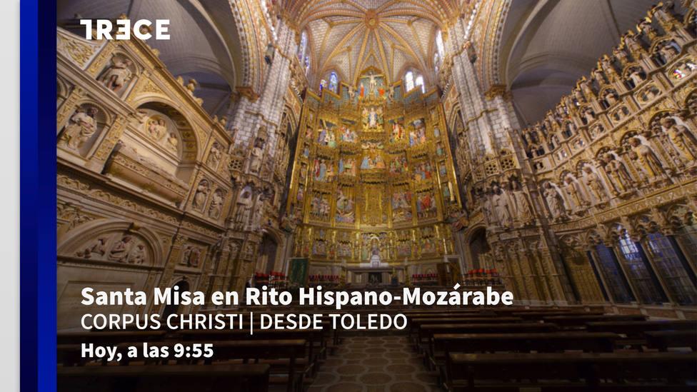 Este jueves, Santa Misa en Rito Hispano-Mozárabe desde Toledo