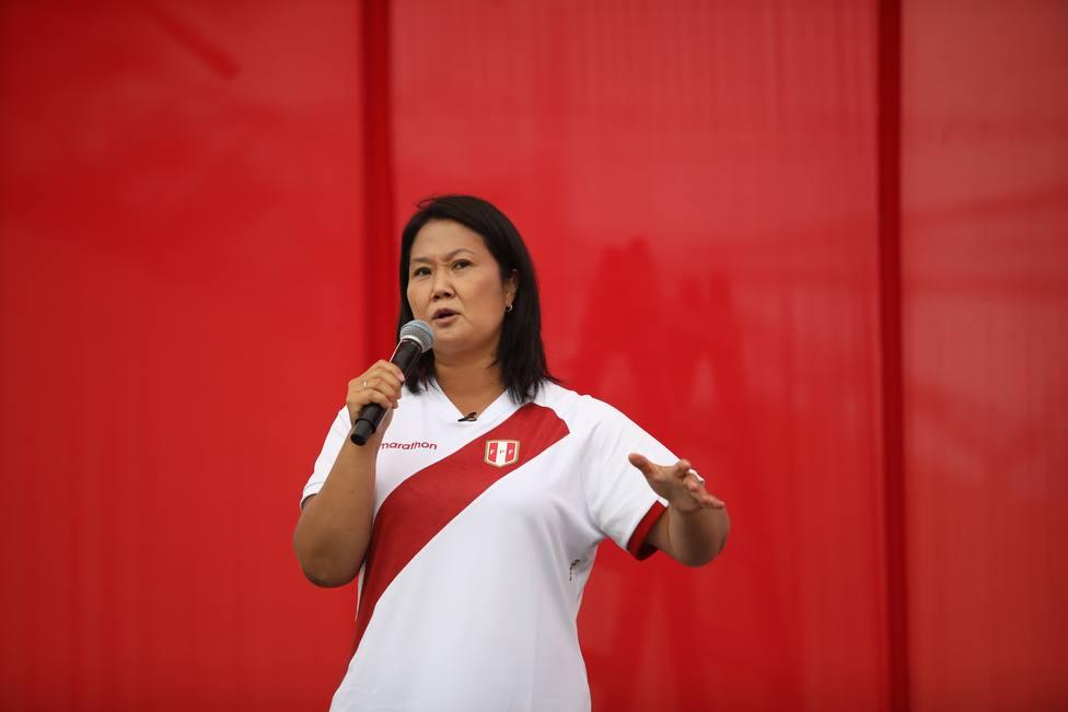 El Fiscal pide prisión preventiva para Keiko Fujimori por el caso Lava Jato