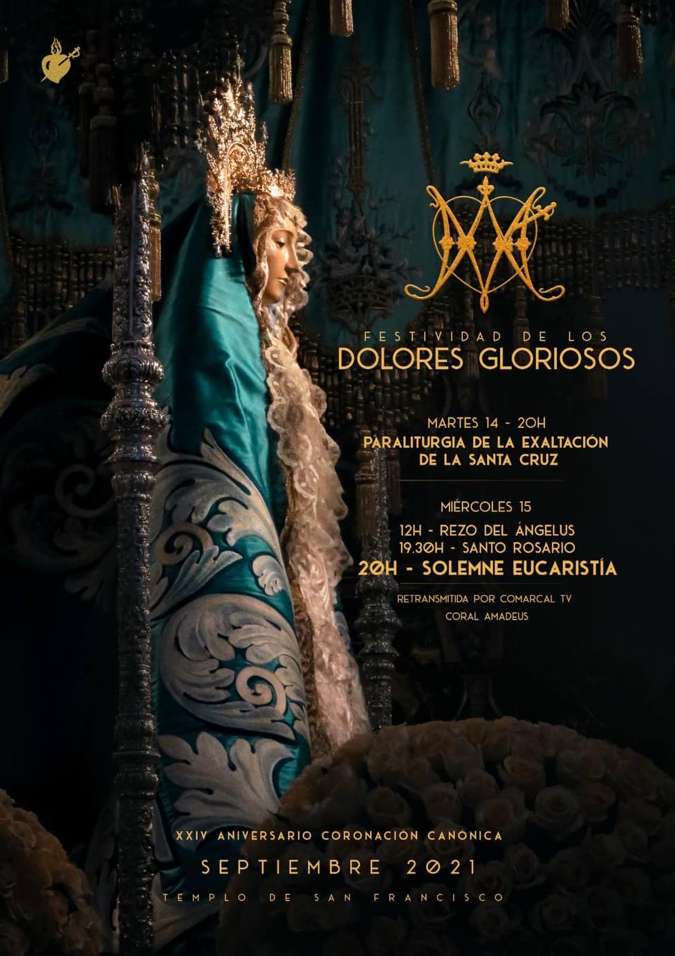 El Paso Azul conmemora la festividad de los Dolores Gloriosos