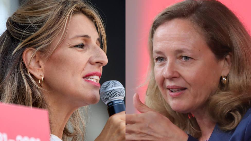 Nadia Calviño y su último derrota frente a Yolanda Díaz: ¿hasta cuándo?