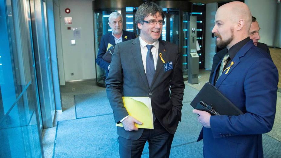 Carles Puigdemont visita Finlandia