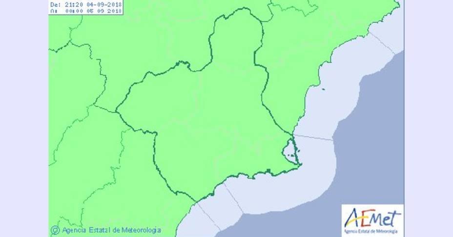 Lluvias generalizas durante el fin de semana en la Región