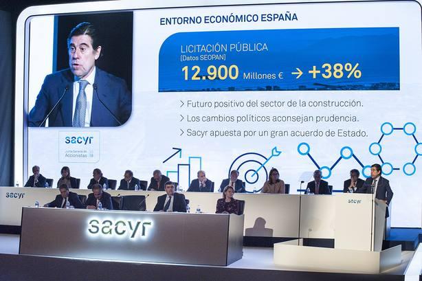 (AMP) Sacyr gana un 12,6% más gracias al negocio internacional y Repsol