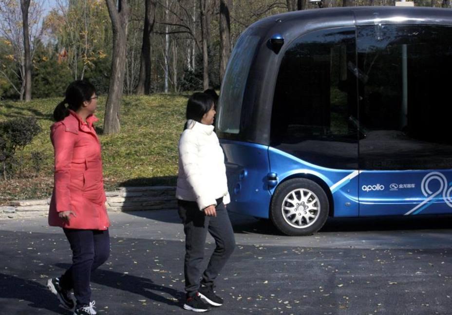 Pekín planea tener autobuses autónomos en sus calles en 2022