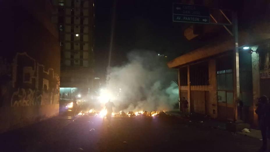 La tensión sigue creciendo en Venezuela con protestas en las calles