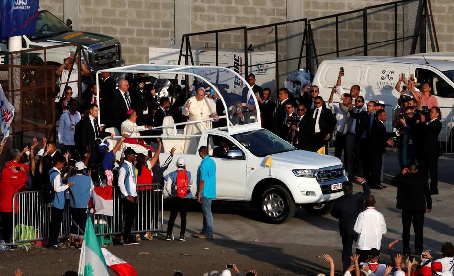El papa Francisco oficia la misa de cierre de la Jornada Mundial de la Juventud