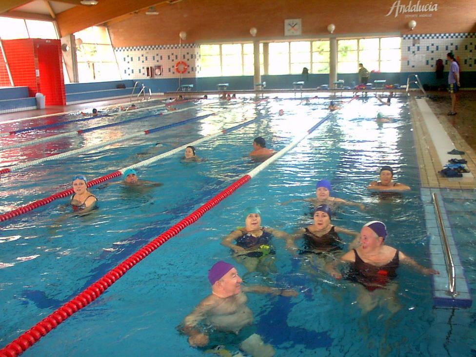 mayores piscina