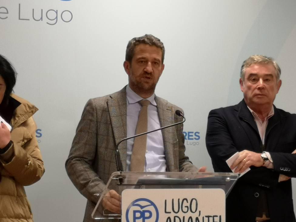 De Olano y Barreiro se perfilan al Congreso y al Senado por el PP en Lugo
