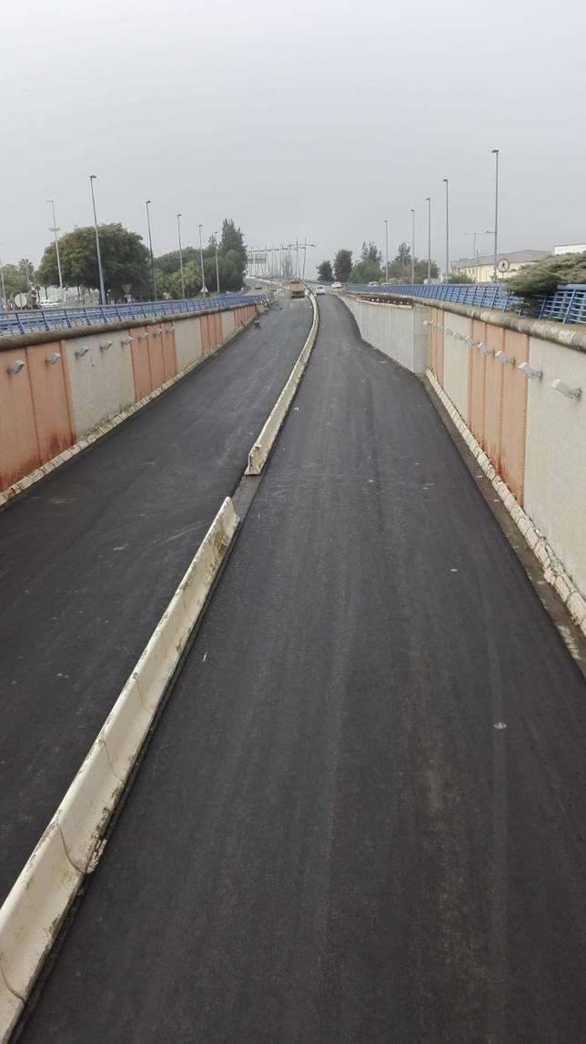 ANDALUC�A.-Huelva.- El puente del Odiel permanecerá totalmente abierto desde este miércoles hasta el 9 de enero