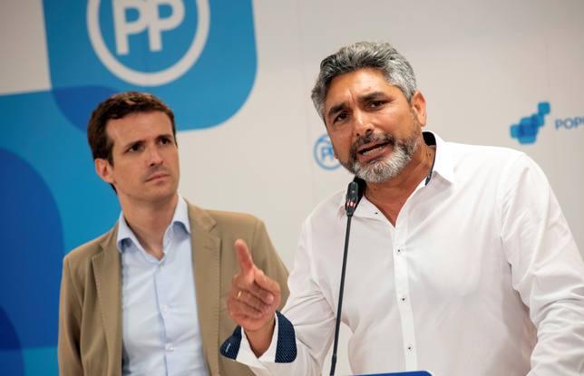 El padre de Mariluz, Juan José Cortés, será cabeza de lista del PP en Huelva para las generales