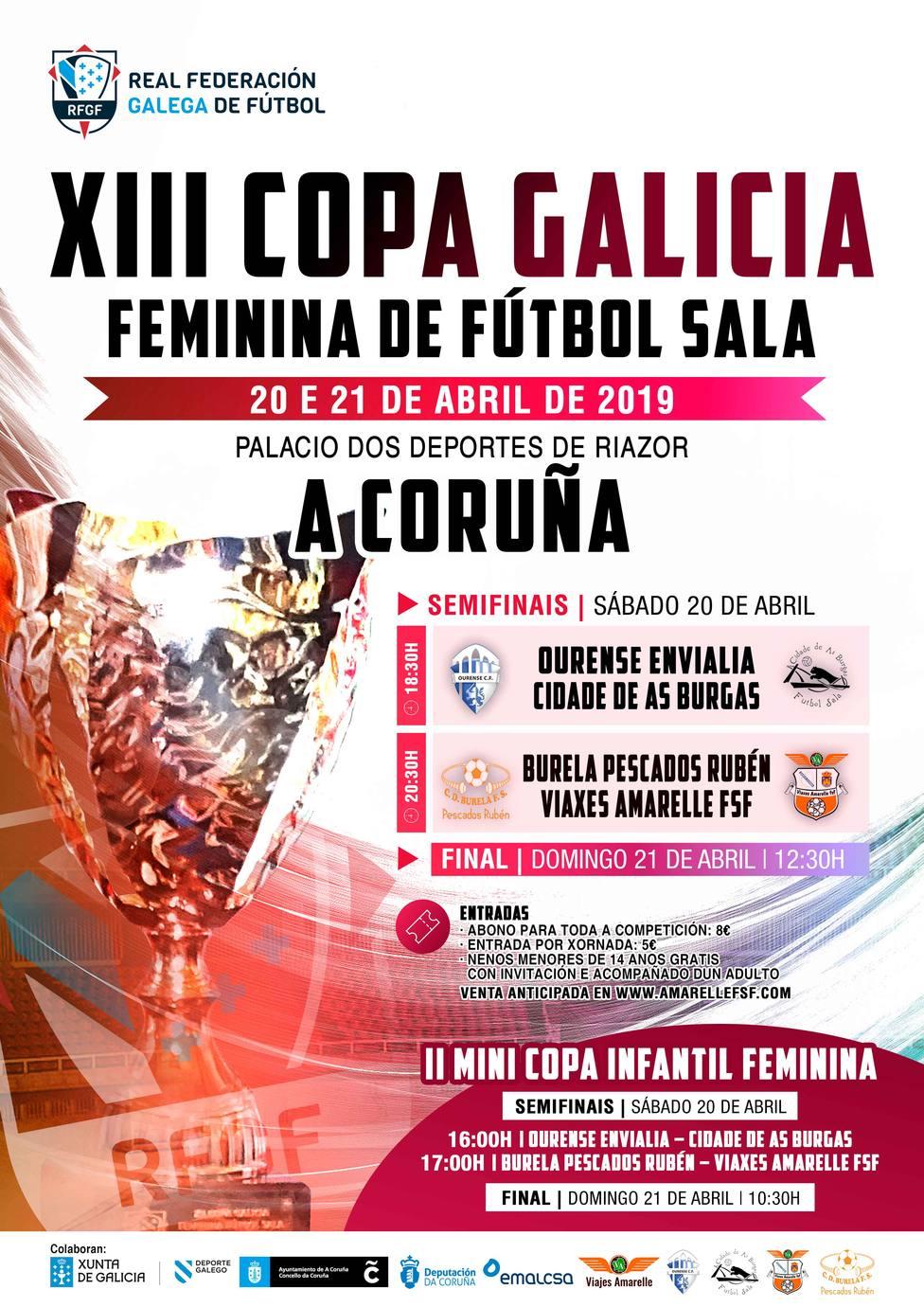 Cartel COPA Galicia 2019
