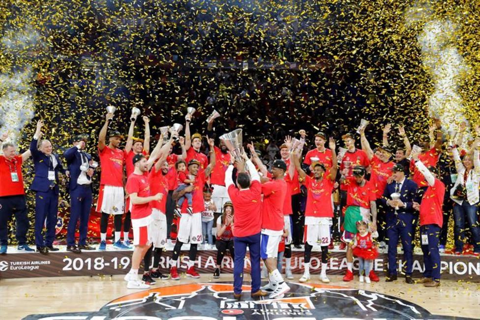 CSKA, campeón de Euroliga
