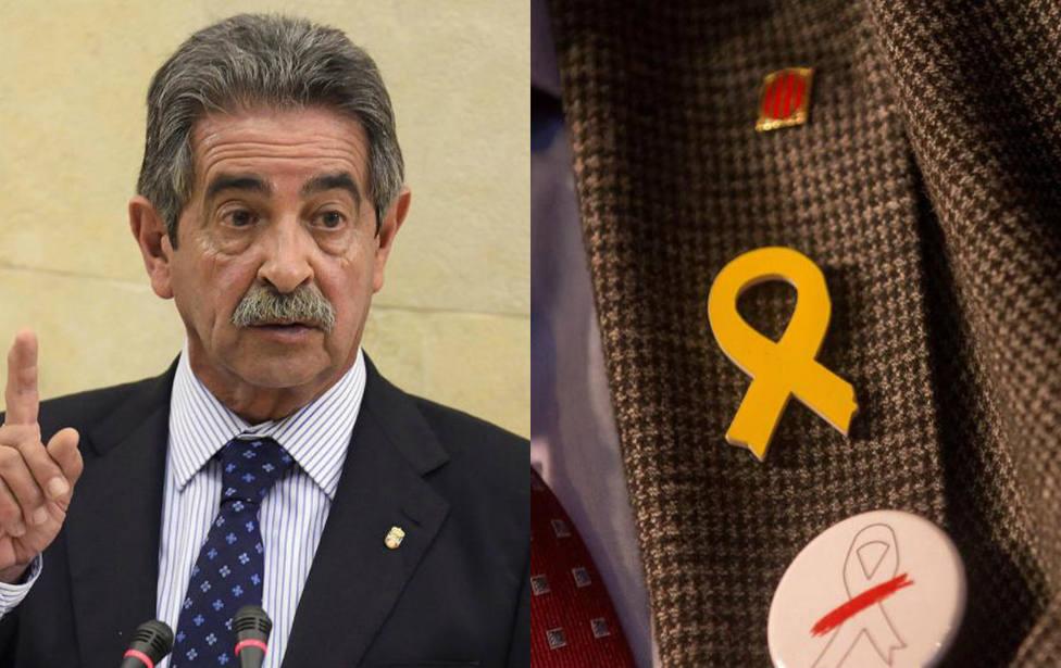 La sorprendente respuesta de Revilla a los independentistas y sus lazos amarillos
