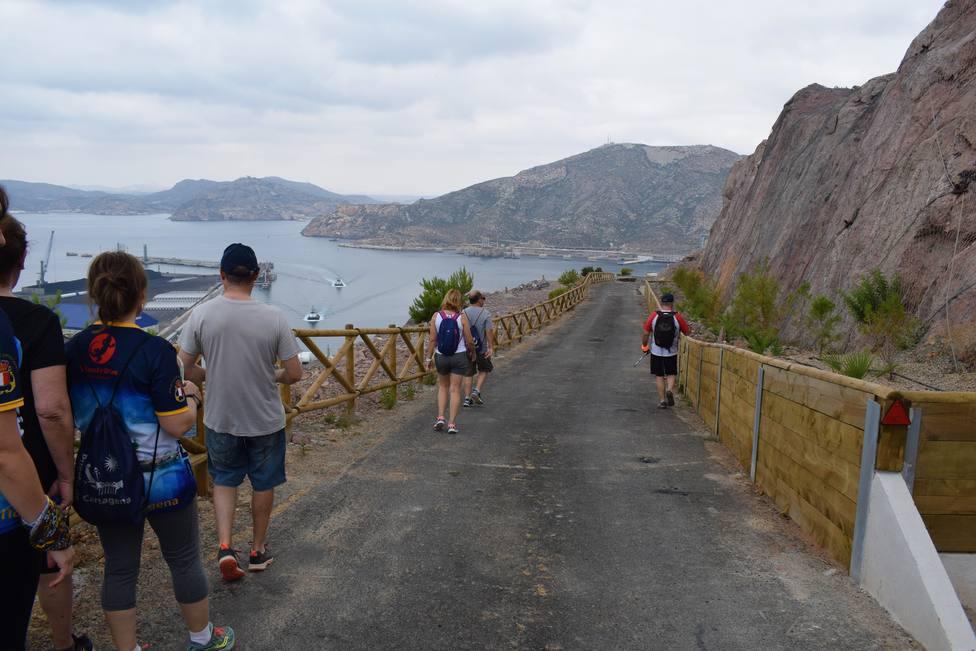 Cartagena cuenta con un nuevo sendero marítimo por el entorno portuario