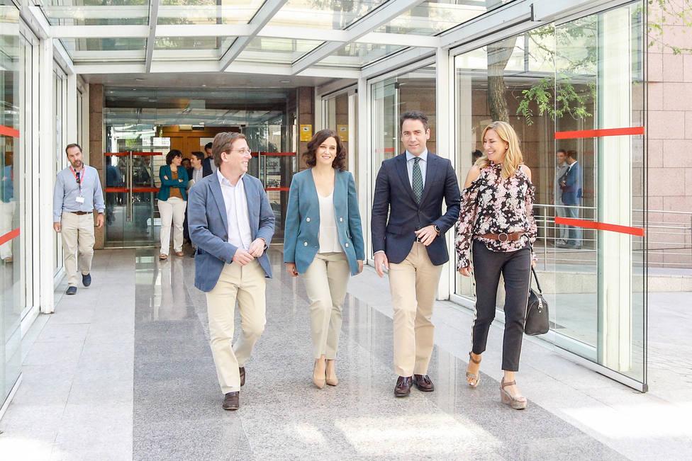 Díaz Ayuso destaca la aprobación de Madrid Nuevo Norte como una gran oportunidad para todo el país