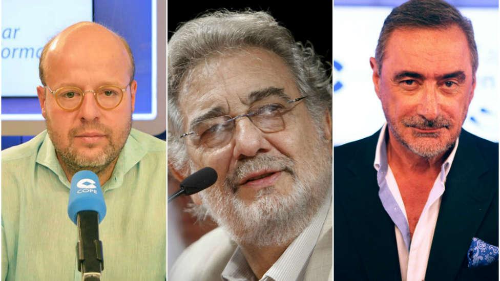 ¿Qué opinan Herrera y Sostres de las acusaciones contra Plácido Domingo por abuso sexual?