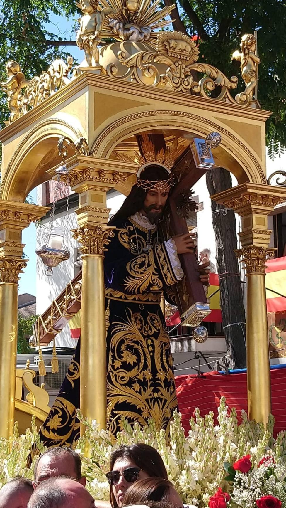 Paso precesional del Santísimo Cristo de Urda