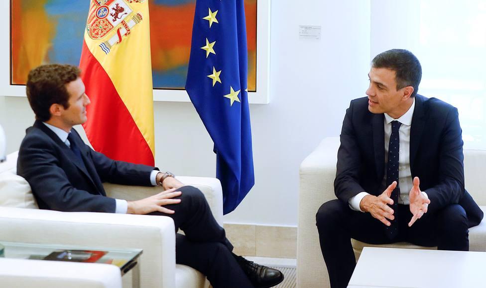 Casado no espera nada de la reunión de Sánchez, pero tampoco hará concesiones