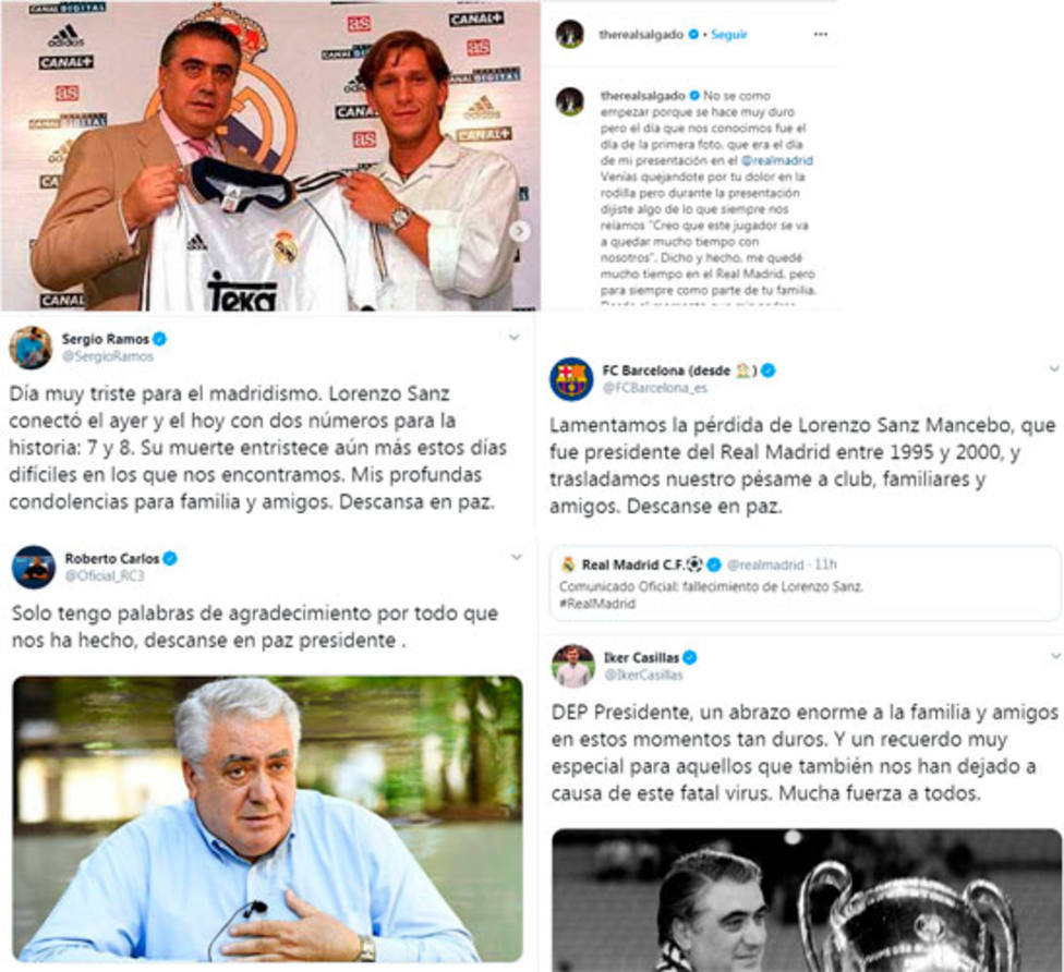 El mundo del deporte llora el fallecimiento de Lorenzo Sanz