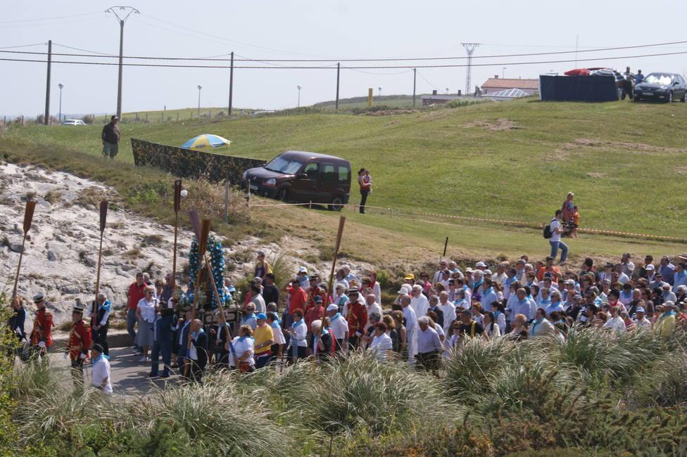 Virgen del Mar. Foto: Antonio Arribas