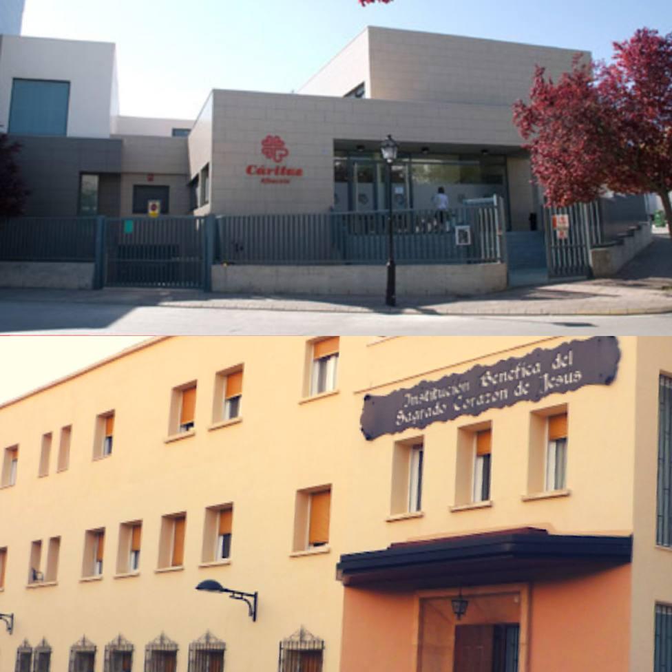 Junta de Cofradías de Albacete ayuda al Cotolengo y a Cáritas