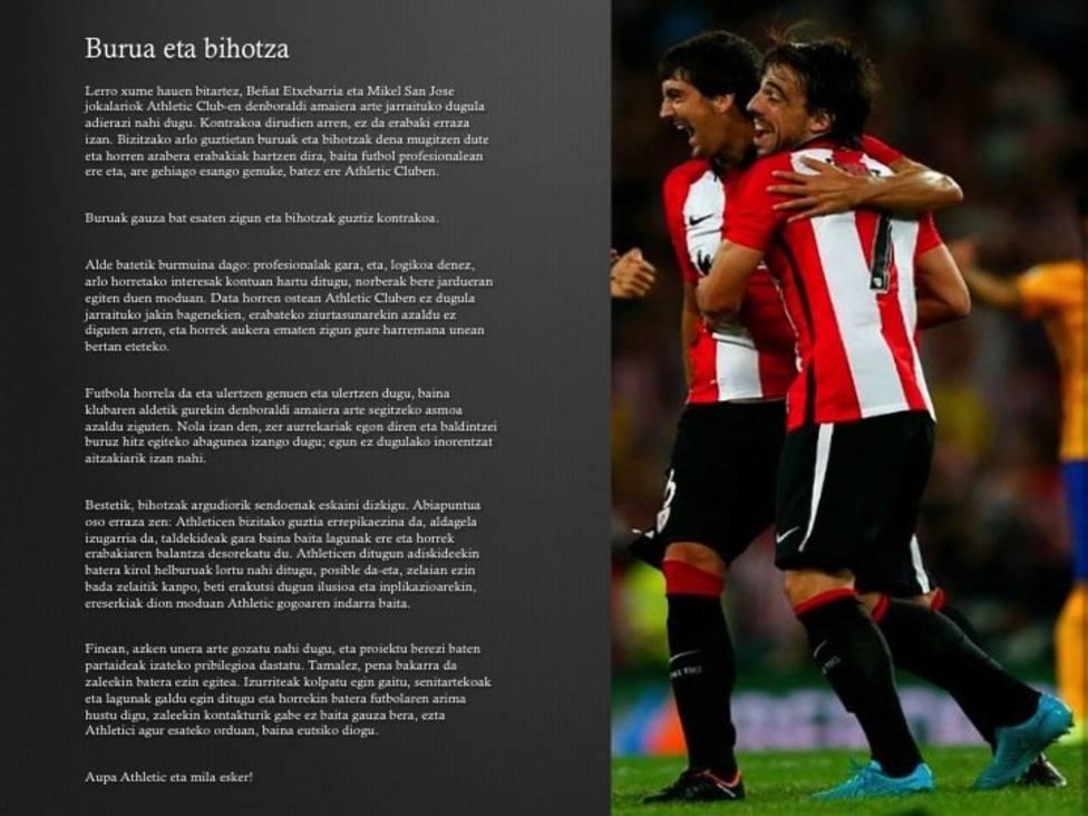 San José y Beñat deciden seguir hasta que concluya la temporada