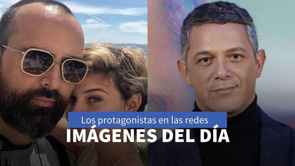 Risto Mejide y Alejandro Sanz