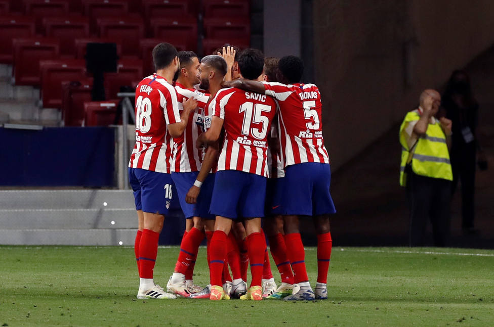 El Atlético de Madrid comunica dos positivos por coronavirus un ...