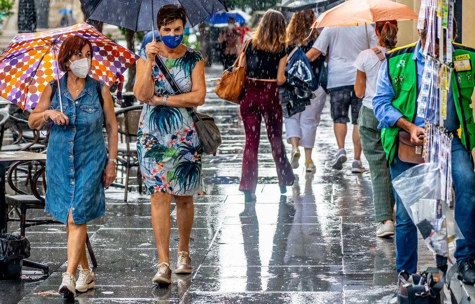 El tiempo en La Rioja: Fin de semana con lluvias y rachas muy fuertes de viento y nieve en la Ibérica