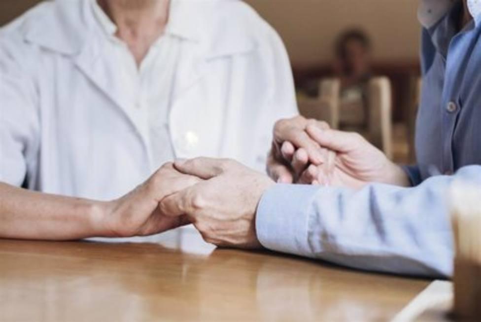Ancianos en un geriátrico