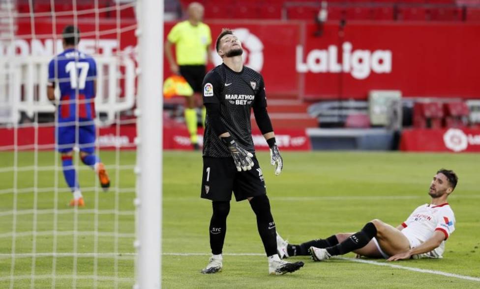 Sevilla-Eibar (0-1): Otra derrota que salta las costuras