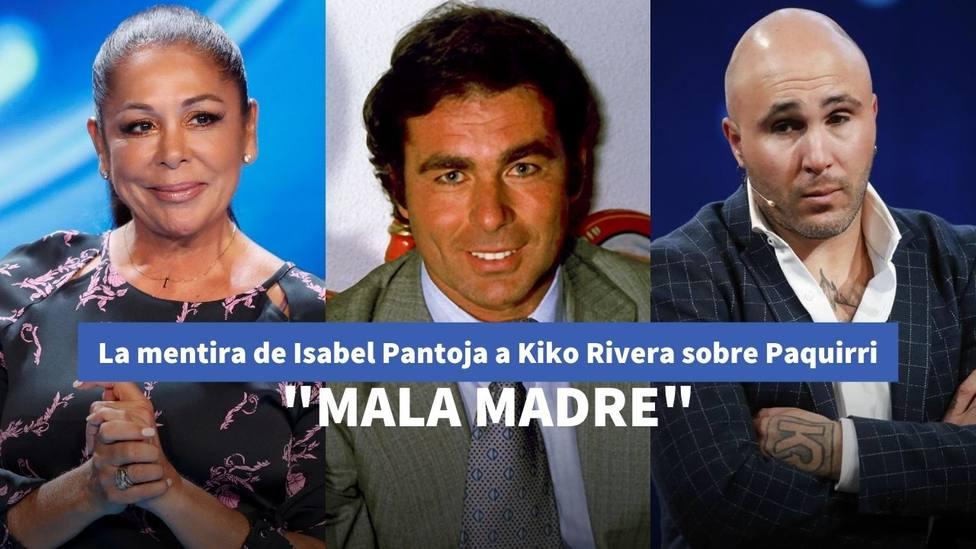 La mentira de Isabel Pantoja a Kiko Rivera sobre Paquirri y Cantora que ha dinamitado su relación para siempre