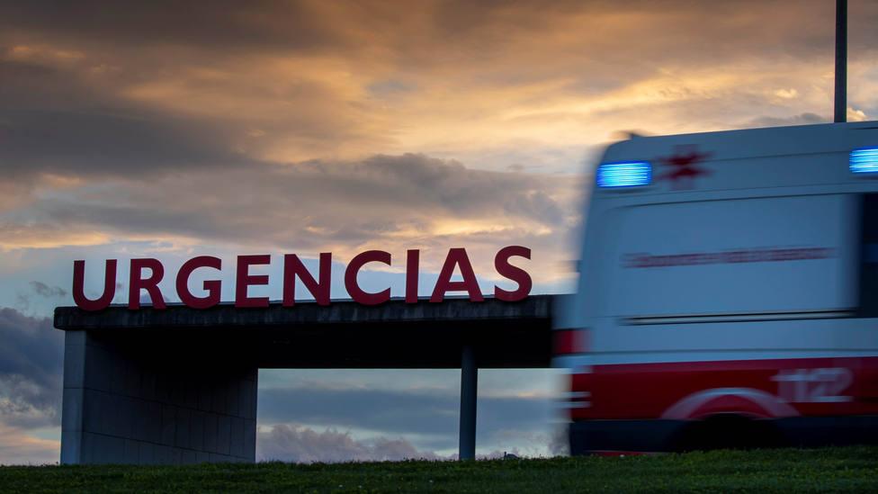 Entrada de Urgencias del HUCA