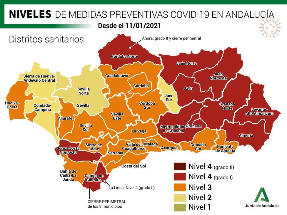 La Junta cierra la localidad de Añora y aplica 10 medidas para frenar el coronavirus