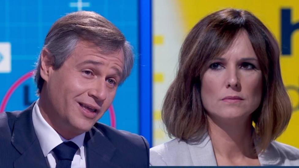 La acusación de un diputado del PP a TVE por manipular en directo que deja Mónica López con esta cara