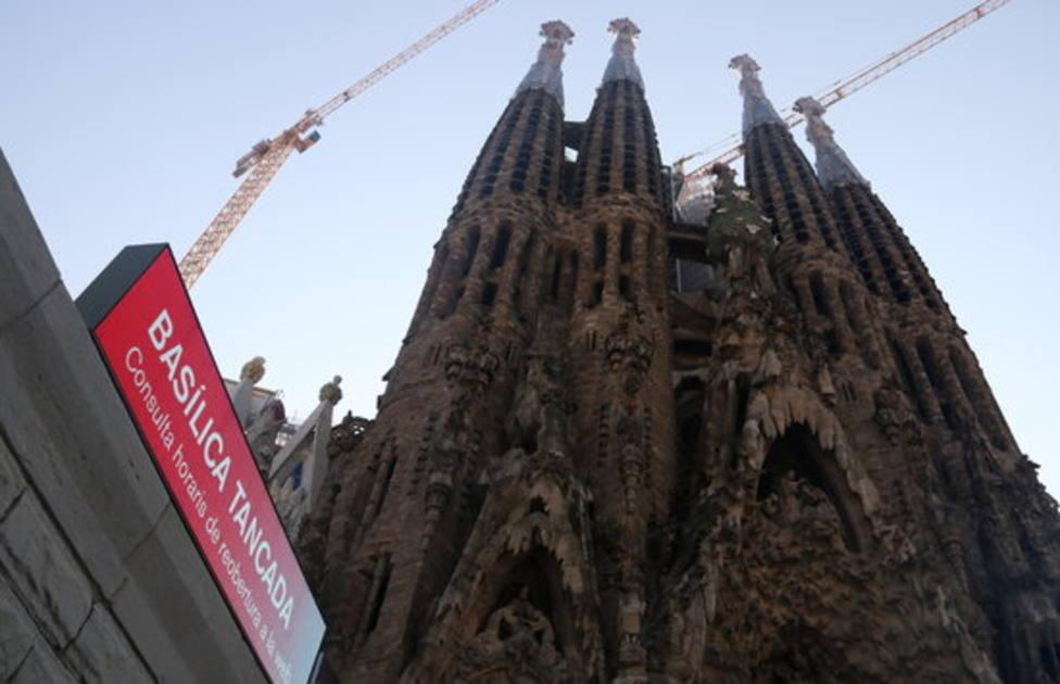 Exterior de la Sagrada Familia, Barcelona