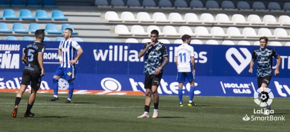 Ponferradina-UD Almería (2-1): Va a estallar el obús