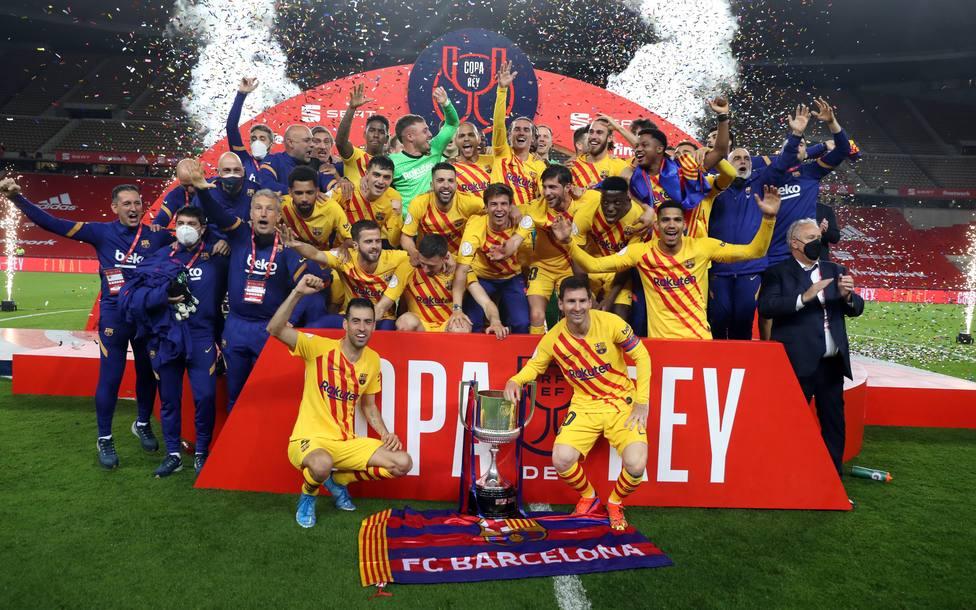 El Barcelona conquista su 31ª Copa del Rey ante el Athletic de Bilbao