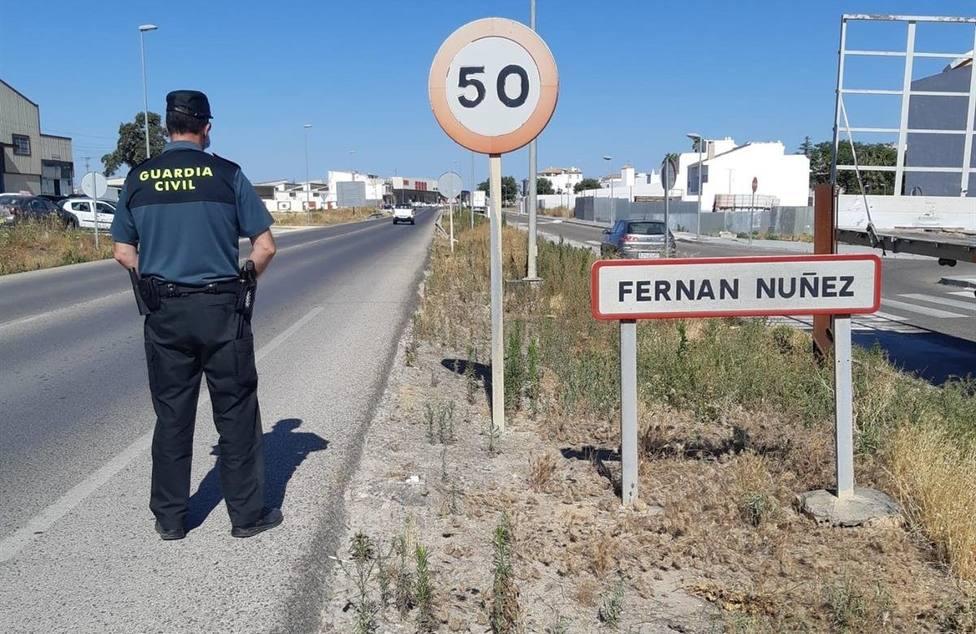 Detenido por cometer cinco robos con fuerza en la localidad de Fernán Nuñez