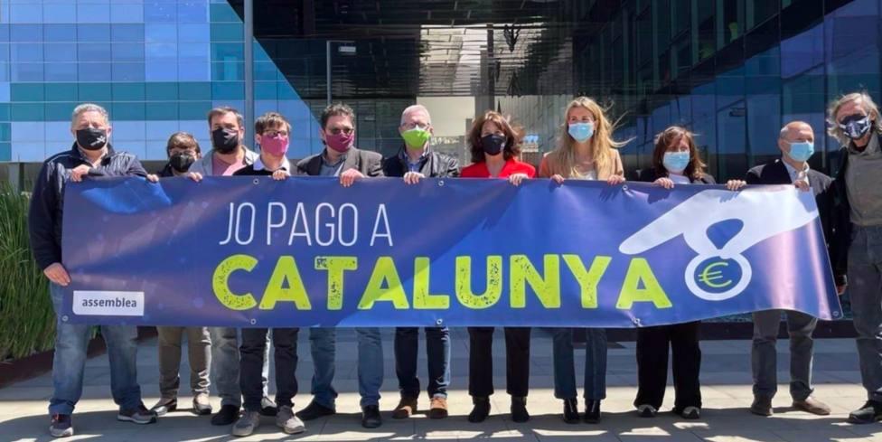 La ANC llama a presentar la declaración de la renta en la Agencia Tributaria de Catalunya
