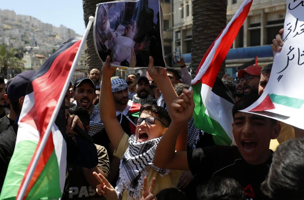 Más de cincuenta heridos y al menos un fallecido en enfrentamientos con las fuerzas israelíes en Cisjordania