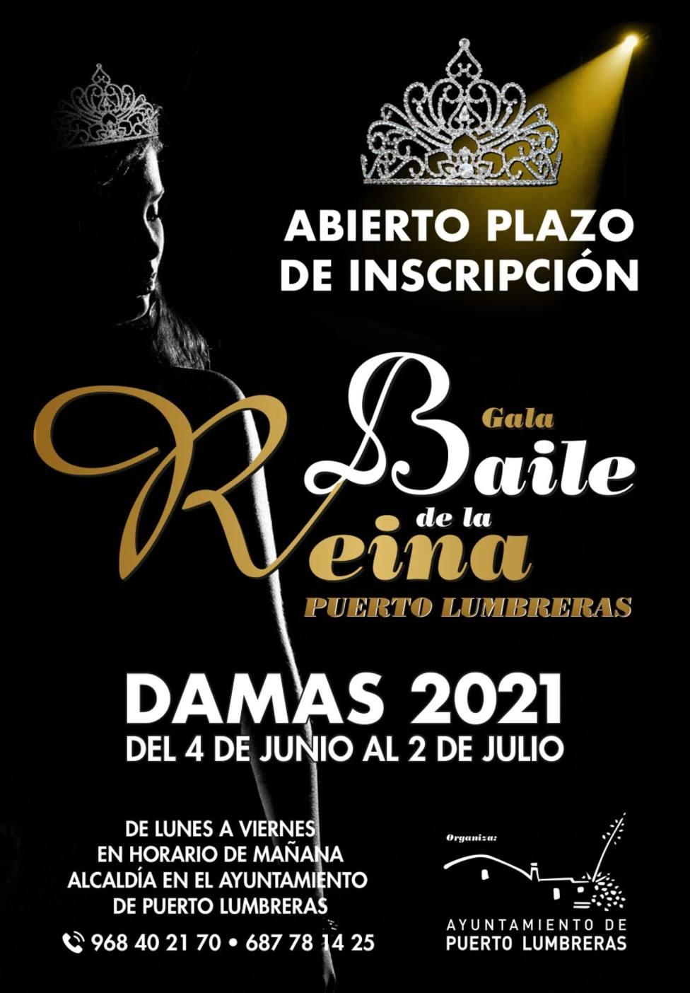 Puerto Lumbreras celebrará el Baile de la Reina 2021